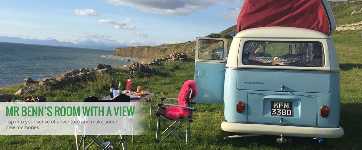Mr Benn's Room with a View - Tap into your sense of adventure and make some new memories