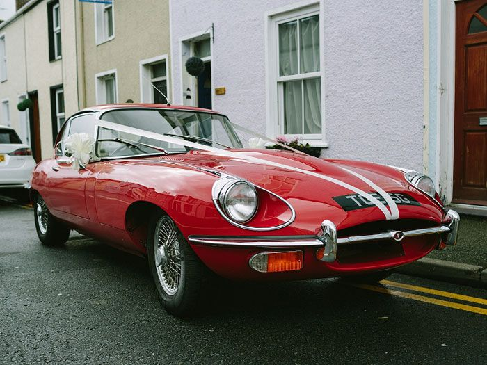 Eleanor, Jaguar E-Type exterior