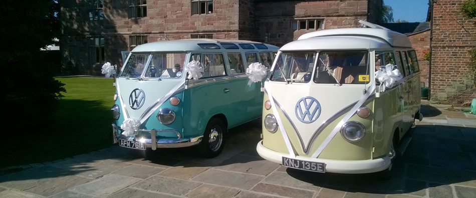 Sister Act - Fabulous alternatives to ordinary wedding cars and certain to leave a lasting impression
