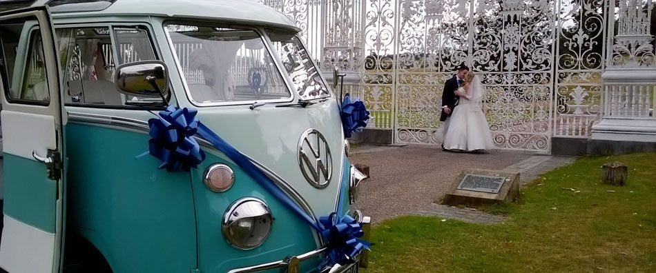 VIP Guest at your Wedding - When it comes to the big wedding day, our stunning 'Lucy the Love Bus' wil blow you away